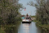 Airboat tour w parku Everglades
